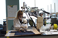 Quebec Police forensic lab in Montreal invite the medias for its 100 anniversary