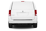 Straight rear view of a 2014 Ram Ram Cargo Van Tradesman 4 Door Cargo Van Rear View  stock images