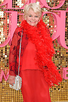 """Judith Chalmers<br /> arrives for the World Premiere of """"Absolutely Fabulous: The Movie"""" at the Odeon Leicester Square, London.<br /> <br /> <br /> ©Ash Knotek  D3137  29/06/2016"""