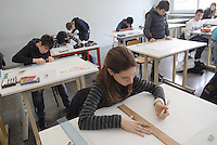 - I.P.S.I.A. (Professional Institute for Industry and Handicrafts) G. Meroni, vocational school for the wood industry, furniture and furnishings; lesson of industrial design....- I.P.S.I.A. (Istituto Professionale per l'Industria e l'Artigianato) G. Meroni, scuola di avviamento professionale per l'industria del legno, del mobile e dell'arredamento; lezione di disegno industriale