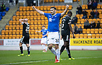 St Johnstone v Hamilton Accies…10.11.18…   McDiarmid Park    SPFL<br />Tony Watt celebrates Drey Wrights deflected cross that made it 2-0<br />Picture by Graeme Hart. <br />Copyright Perthshire Picture Agency<br />Tel: 01738 623350  Mobile: 07990 594431