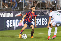 EAST HARTFORD, CT - JULY 1: Kelley O'Hara #5 of the United States during a game between Mexico and USWNT at Rentschler Field on July 1, 2021 in East Hartford, Connecticut.