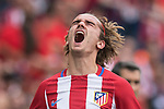 Antoine Griezmann of Atletico de Madrid (C) reacts during their La Liga match between Atletico de Madrid vs Athletic de Bilbao at the Estadio Vicente Calderon on 21 May 2017 in Madrid, Spain. Photo by Diego Gonzalez Souto / Power Sport Images