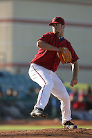 May 2, 2010: Brad Dydalewicz of the Lancaster JetHawks during game against the Lake Elsinore Storm at Clear Channel Stadium in Lancaster,CA.  Photo by Larry Goren/Four Seam Images