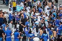 MANIZALES -COLOMBIA-3-ABRIL-2016. Acción de juego entre   Once Caldas y Millonarios  .Partido por la fecha once de la Liga Aguila jugado en el estadio Palogrande de la ciudad de Manizales Photo: VizzorImage/ Kevin Toro / Contribuidor