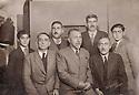 Syria 1949.<br /> Standing from left to right:Mejid Hajo, Cegerxwin,Djemal Agha Hajo.Below, Haji Abdul Kerim, Geladet Bedir Khan, Hasan Agha Hajo MP<br /> Syrie 1949<br /> Debout de gauche a droite,Mejid Hajo, Cegerxwin, Djemal Agha Hajo,assis, Haji Abdul Kerim, Geladet Bedir Khan ,Hasan Agha hajo MP