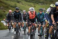 Joris Nieuwenhuis (NED/DSM) in group up the Cormet de Roselend<br /> <br /> Stage 9 from Cluses to Tignes (144.9km)<br /> 108th Tour de France 2021 (2.UWT)<br /> <br /> ©kramon