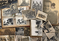 BNPS.co.uk (01202) 558833. <br /> Pic: Bosleys/BNPS<br /> <br /> Never before seen photos taken by a fishmonger turned SAS hero behind enemy lines in World War Two have come to light 76 years on.<br /> <br /> Sergeant Samuel Rushworth, of the 2nd Special Air Service, was dropped into occupied France two days before D-Day in June 1944.<br /> <br /> They were tasked with disrupting German reinforcements dispatched to Normandy following the Allied landings.
