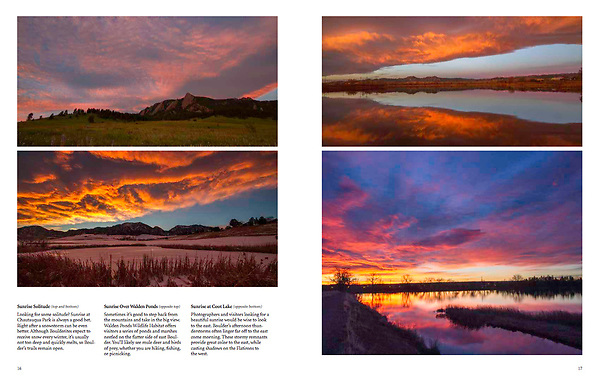 """""""Boulder, Colorado: A Photographic Portrait."""" Photography & writing by John Kieffer.<br /> A hardcover book, with 128 pages and 160 captioned, color photos. John's 6th Book. <br /> Publisher:  TwinLightsPub.com  (May 2018)"""