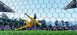 26.02.2020 SC Braga v Rangers: Matheus saves Ianis Hagi's penalty kick