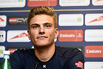 Marcel Kittel (GER) Team Katusha Alpecin at the top riders press conference for the Dubai Tour 2018 the Dubai Tour's 5th edition held at Dubai Frame in Zabeel Park, Dubai, United Arab Emirates. 5th February 2018.<br /> Picture: LaPresse/Massimo Paolone | Cyclefile<br /> <br /> <br /> All photos usage must carry mandatory copyright credit (© Cyclefile | LaPresse/Massimo Paolone)