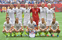 Vancouver, Canada - Sunday, July 5, 2015: The USWNT play Japan in the 2015 FIFA Women's World Cup Final at BC Place.