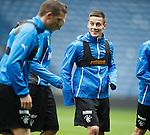 Ian Black at training