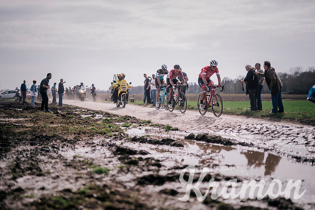John Degenkolb (DEU/Trek-Segafredo)<br /> <br /> 116th Paris-Roubaix (1.UWT)<br /> 1 Day Race. Compiègne - Roubaix (257km)