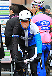 Mark Renshaw (AUS) Blanco Pro Cycling Team at the sign on before the start of the 104th edition of the Milan-San Remo cycle race at Castello Sforzesco in Milan, 17th March 2013 (Photo by Eoin Clarke 2013)