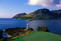 Kauai Lagoons - Kiele, No. 16, Kauai, Hawaii.  Architect: Jack Nicklaus