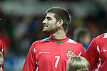 Nationwide Friendly International Wales v Sweden at the Liberty Stadium in Swansea : Wales' Ched Evans...