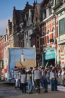 Europe/France/Nord-Pas-de-Calais/59/Nord/Bailleul: Le Carnaval de Bailleul  - Char des Marins- Pêcheurs