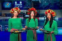 Medals Hostess <br /> LEN European Diving Championships 2017<br /> Sport Center LIKO, Kiev UKR<br /> Jun 12 - 18, 2017<br /> Day05 16-06-2017<br /> Photo © Giorgio Scala/Deepbluemedia/Insidefoto