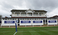General view of Richmond Athletic Ground, home of London Scottish Rugby Football Club, ahead of the Greene King IPA Championship match between London Scottish Football Club and Ealing Trailfinders at Richmond Athletic Ground, Richmond, United Kingdom on 26 December 2015. Photo by Alan  Stanford / PRiME Media Images