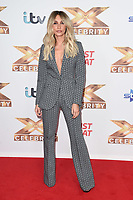 """LONDON, UK. October 09, 2019: Megan McKenna at the photocall for """"The X Factor: Celebrity"""", London.<br /> Picture: Steve Vas/Featureflash"""