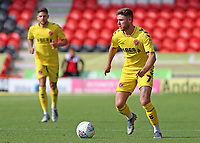 Fleetwood Town's Wes Burns in action<br /> <br /> Photographer David Shipman/CameraSport<br /> <br /> The EFL Sky Bet League One - Doncaster Rovers v Fleetwood Town - Saturday 17th August 2019  - Keepmoat Stadium - Doncaster<br /> <br /> World Copyright © 2019 CameraSport. All rights reserved. 43 Linden Ave. Countesthorpe. Leicester. England. LE8 5PG - Tel: +44 (0) 116 277 4147 - admin@camerasport.com - www.camerasport.com