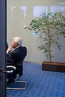GERMANY, Hamburg, Helmut Schmidt born 1918 - died 2015, SPD politician and fifth chancellor of Germany during 1974-1982 / DEUTSCHLAND, Hamburg, Helmut Schmidt geb. 1918 - gest. 2015, SPD Politiker und 5. Bundeskanzler der BRD 1974-1982