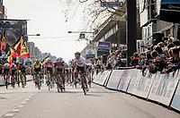Alexander Kristoff (NOR/UAE) wins the 81st Gent-Wevelgem 'in Flanders Fields' 2019<br /> <br /> One day race (1.UWT) from Deinze to Wevelgem (BEL/251km)<br /> <br /> ©kramon