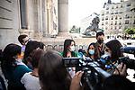 The president of Ciudadanos (Cs), Ines Arrimadas in press conference. May 18, 2021. (ALTERPHOTOS/Ciudadanos/Pool)