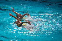 Stanford, CA: February 23rd, 2020. The Stanford Synchronized Swimming Team win on Senior Day over Incarnate Word and Colorado State.