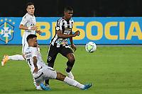 Rio de Janeiro (RJ), 08/02/2021 - Botafogo-Grêmio - Jogador do Botafogo,durante partida contra o Grêmio,válida pela 35ª rodada do Campeonato Brasileiro,realizada no Estádio Nilton Santos (Engenhão), na zona norte do Rio de Janeiro,nesta segunda-feira (08).