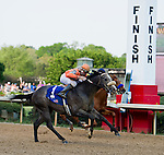 9 APR - Win Willy (1) and Oaklawn's  leading Jockey Cliff Barry, edges Calvin Borel and Misremembered (4) for a dramatic win of the 65th running of the Oaklawn Park Handicap.