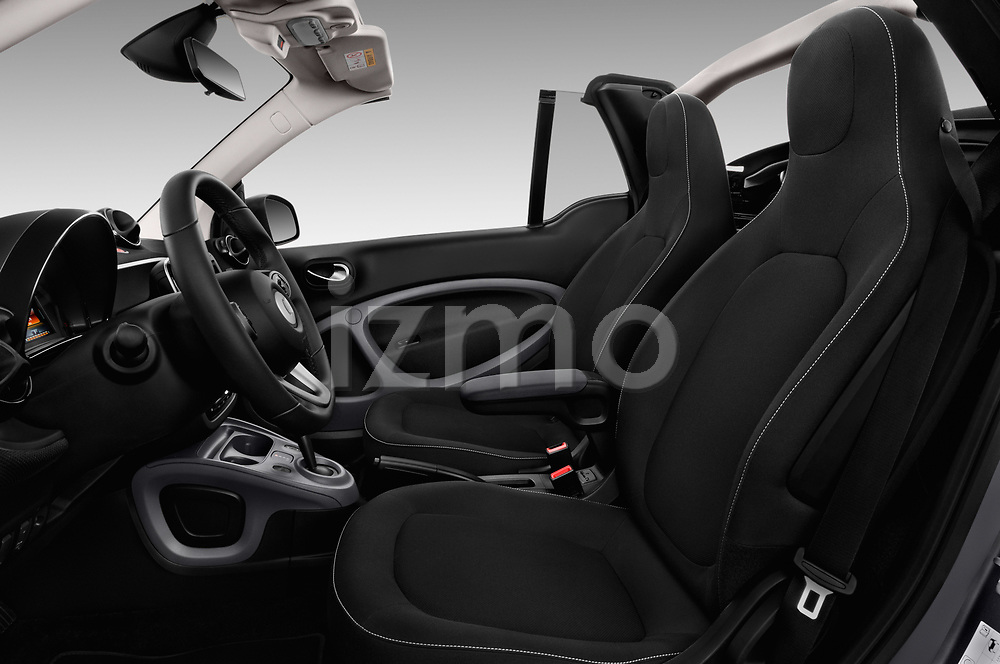 Front seat view of 2017 Smart Fortwo Passion 2 Door convertible Front Seat  car photos