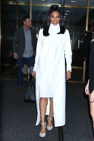 NEW YORK, NY- October 30: Ciara at NBC's  Today Show promoting the Nickelodeon game show, 'America's Most Musical Family' in New York City on October 30, 2019. Credit: RW/MediaPunch