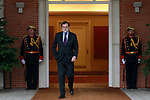 The President of the Government of Spain, Mariano Rajoy, receives the Secretary General of NATO Jens Stoltenberg at the Moncloa Palace. January 25,2018. (ALTERPHOTOS/Acero)