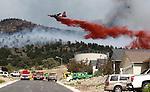 Northern Nevada brush fires