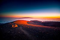 Mauna Kea sunset, Big Island.