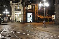 - Milan, Cordusio square....- Milano, piazza Cordusio