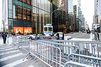 NEW YORK, NY, 19.03.2017 - TRUMP-TOWER - Vista da fachada da Trump Tower  na Quinta Avenida em Manhattan na cidade de New York neste domingo, 19. (Foto: Vanessa Carvalho/Brazil Photo Press)