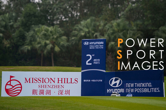 Player in action during the Hyundai China Ladies Open 2014 on December 12 2014, in Shenzhen, China. Photo by Xaume Olleros / Power Sport Images
