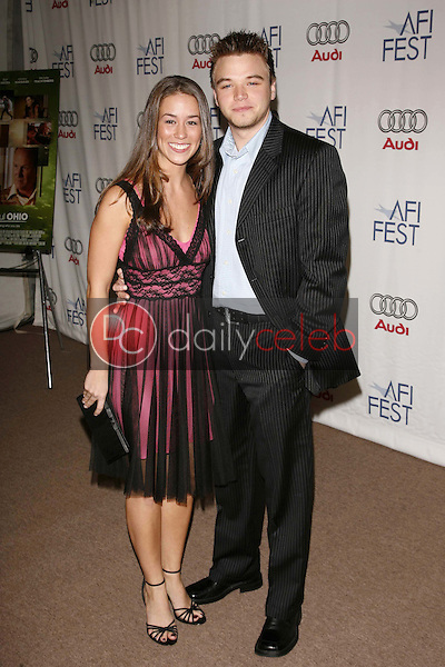"""Brett Davern and guest<br />at the AFI Fest 2006 Screening of """"Beautiful Ohio"""". Arclight Cinemas, Hollywood, CA. 11-10-06<br />Dave Edwards/DailyCeleb.com 818-249-4998"""