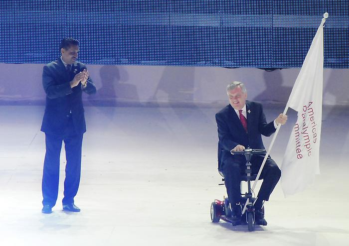 David Onley, Guadalajara 2011.<br /> Highlights from Closing Ceremonies // Faits saillants des cérémonies de clôture. 11/20/2011.