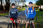 Enjoying a cycle around the Killarney National Park on Saturday, l to r: Mark Daly and Cathal Mackey