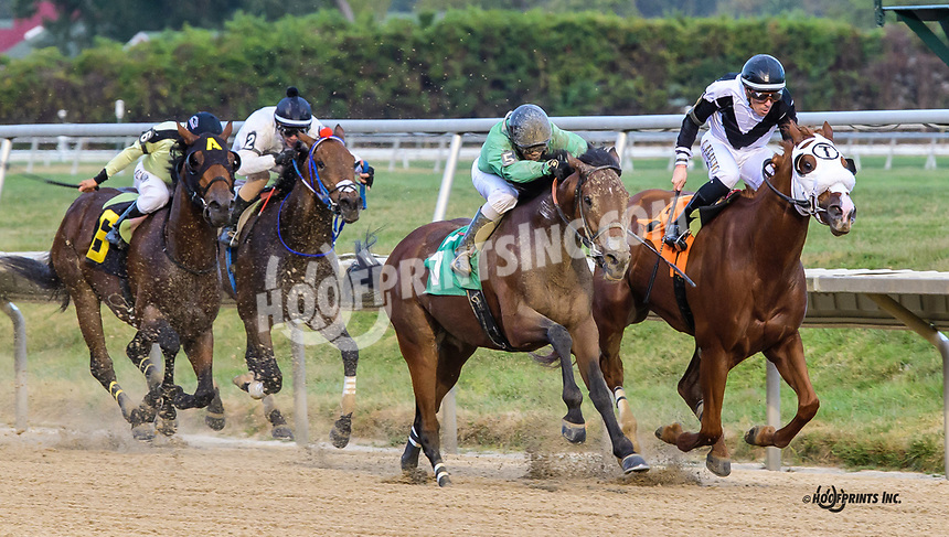Rangers Coming winning at Delaware Park on 10/2/19