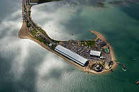 BNPS.co.uk (01202 558833)<br /> Pic: HistoricEngland/BNPS<br /> <br /> Calshot in Hampshire<br /> <br /> Angling officials have launched a cold case investigation into claims that a long-standing British record might be a bit fishy. <br /> <br /> The British Record Fish Committee is reacting to a tip-off from an angler who has raised concerns that the record for the biggest sea trout caught in 1992 might not be as it seems.<br /> <br /> The anonymous complainant had recently studied a photograph they had come across of the 28lbs 5oz specimen after it had been stuffed. <br /> <br /> And they suspect the fish might have been a hybrid breed - a cross between a salmon and a sea trout.
