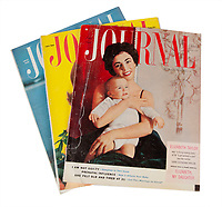 BNPS.co.uk (01202 558833)<br /> Pic: Juliens/BNPS<br /> <br /> Magazine covers from Taylors career in the spotlight.<br /> <br /> A spectacular collection of over 1,000 items charting Elizabeth Taylor's life including her iconic outfits are up for sale for over £1million. ($1.25million)<br /> <br /> Dozens of designer gowns, fur coats and capes are being auctioned by the trustees of the estate of the late English actress.<br /> <br /> Also going under the hammer are the Hollywood icon's stylish wigs, scarves, shoes and jewellery.<br /> <br /> Items of her lavish furniture from her luxury homes across the world, right down to her personalised salt and pepper shaker, are included.