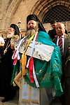 Israel, Jerusalem, Greek Orthodox Assumption Day ceremony at the Church of the Assumption
