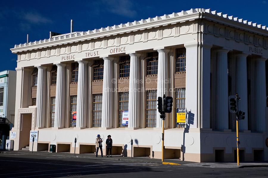 Public Trust Office, Napier, north island, New Zealand.