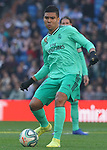 Real Madrid's Carlos Henrique Casemiro during La Liga match. December 7,2019. (ALTERPHOTOS/Acero)