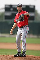 March 23rd 2008:  Michael Mehlich of the Atlanta Braves minor league system during Spring Training at Disney's Wide World of Sports in Orlando, FL.  Photo by:  Mike Janes/Four Seam Images